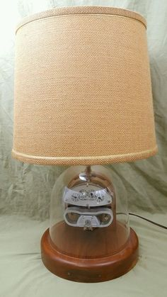 Electrician Gift 1930's Electric Meter Lamp Light Model I-30  STEAMPUNK Arcman