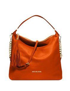 6542bbf149c0 Michael Michael Kors Weston Large Leather Shoulder Bag