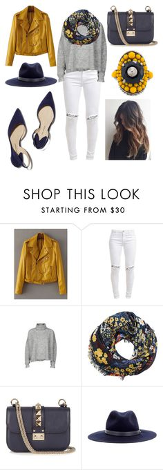 """""""FALL yellow 💛"""" by noah0421 ❤ liked on Polyvore featuring FiveUnits, Designers Remix, MANGO, Valentino, Paul Andrew, rag & bone and Gucci"""