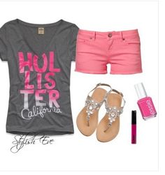 Hollister outfit cute!!!!!!!!!!!!!!!!!!!!!!!!