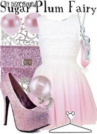 Disneybound Sugar Plum Fairy outfit