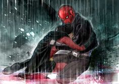Under the Red Rain by MGNemesi.deviantart.com on @deviantART<< SAD SAD SAD SAD