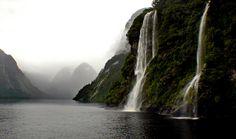 Doubtful Sound. Fiordland NZ by volvob12b, via Flickr