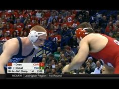 Bo Nickal vs Gabe Dean 184 Final 2017 NCAA Wrestling Championships