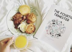 After a lovely evening yesterday I came home to find a very poorly babe. I've been covered in sick too many times throughout the night and now I'm trapped watching Peppa Pig. This mum malarkey is well glam. Image by @popsieandherpages I'm just staring at her breakfast willing it to come to me...