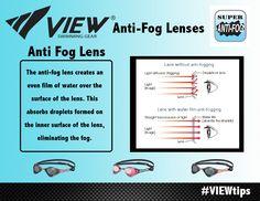 VIEW Anti-Fog Lenses