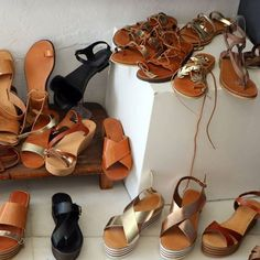 All our sandals are hand-made and all models can be customized and fited according to your desire ❤😊 👉 Feel free to contact us for details / link in the bio 👈   #leathersandals #summer #sandals #summer2017 #madeingreece #realleather #shoes #fashion #greeksandals #handmade #welovegreece #greece #paros #familybusiness #atelierparossandals #turquoise  #shopping #handmadesandals #artisanatcuir #artisanat