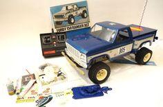 Tamiya 1981 Vintage 1:10 Ford F150 Ranger XLT Kit RA-1027 Remote Radio Control  #Tamiya