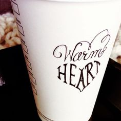 Hot Coffee = Warm heart