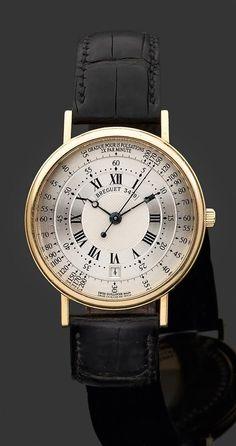 Breguet Men's 'Classique Retrograde Seconds' White Gold Watch.