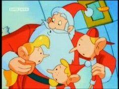 Weihnachtsmann, Trixie, Guilfy und Jordi