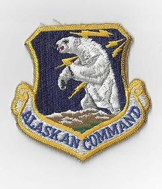 Military Patch United States Alaskan Command | eBay
