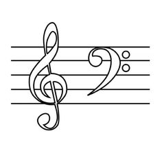 Templates  Music Notes Templates Pictures  Art