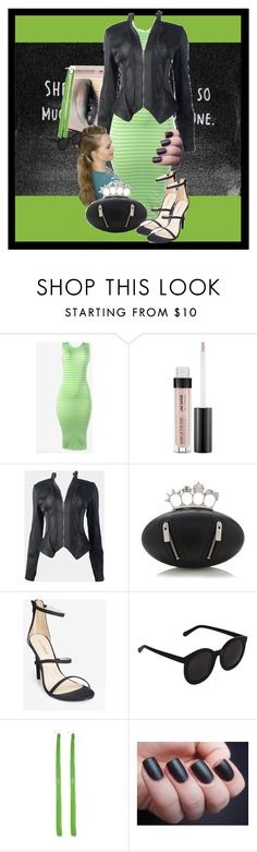 """""""Mysteries"""" by gabi-girl ❤ liked on Polyvore featuring MAKE UP FOR EVER and Alexander McQueen"""