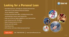 Quick and easy personal loan, Rate of interest starts from 11.29% Compare offers now or call/SMS 7668900900 for assistance.