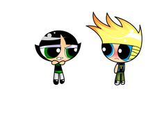 Buttercup is cute and Johnny Test knows it
