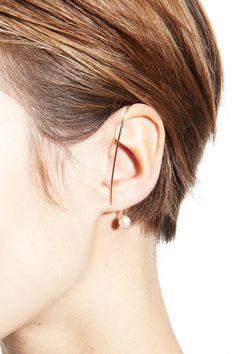 VIBE HARSLØF, Pearl Wrap Earring | Mr. Larkin