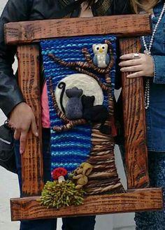 Weaving Art, Loom Weaving, Tapestry Weaving, Hand Weaving, Textile Art, Needle Felting, Fiber Art, Craft Projects, Textiles