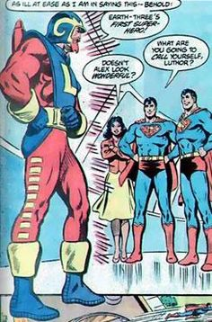 Demythify: Top 5 On Who Is Earth Crime Syndicate Prisoner From Trinity War Finale & More Forever Evil Spoilers? Lar Gand, Superman Action Figure, Earth Two, Justice Society Of America, Comic Villains, Superman Family, Lex Luthor, New Gods, Lois Lane