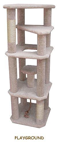 Kitty condo ideas on pinterest kitty condo cat condo for Cat condo plans free