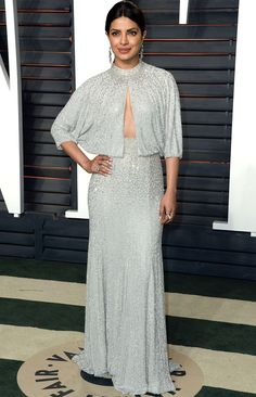 Oscars 2016: All the Dresses You Didn't See | People - Priyanka Chopra in Jenny Packham