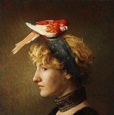 Louise C. Fenne (Danish: 1972) - Augury #4 (2013)