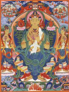 Maitreya next Buddha  happymorningstar.deviantart.com
