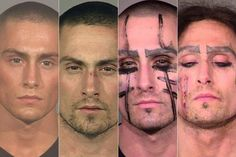 An Oregon man's criminal history has been documented in a series of mugshots…