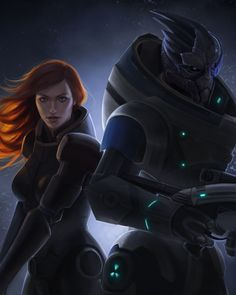 Mass Effect Miranda Lawson HD Canvas Print Wall Poster Scroll Room Decor