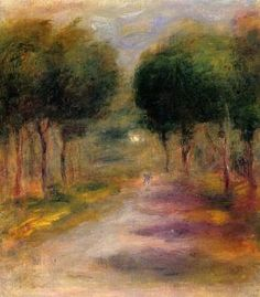 Landscape with Trees - Pierre Auguste Renoir - The Athenaeum