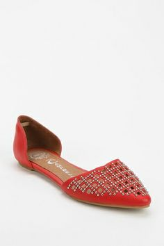 #nopedicure required Jeffrey Campbell In Love D'Orsay Flat from Urban Outfitters on Catalog Spree, my personal digital mall.