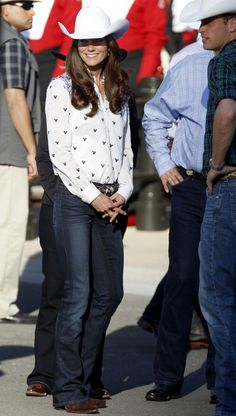 Kate Middleton proving you CAN be a princess and a cowgirl at the same time