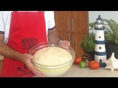 How to make the perfect pizza dough - simple and super tasty! Pizza T, Pizza Dough, Perfect Pizza, Dumplings, Food And Drink, Tasty, Homemade, Cooking, Simple