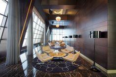 Jumeirah at Etihad Towers Hotel, Abu Dhabi - Observation Deck Interior