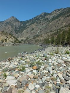 An old placer (gold) mine in Lillooet BC