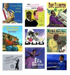 """huge list + reviews of books about music for kids...it also has the Reading Rainbow video for """"Zin, Zin, Zin a Violin."""""""