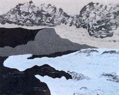 #estherramos #arte #pintura #cuadro #pigmento #latex #tela #lienzo #Sereno equilibrio