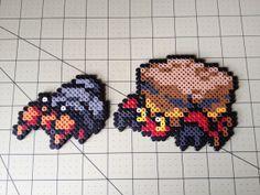 Pokemon Bead Sprite Set  Dwebble Family by ToughTurtles on Etsy, $5.50