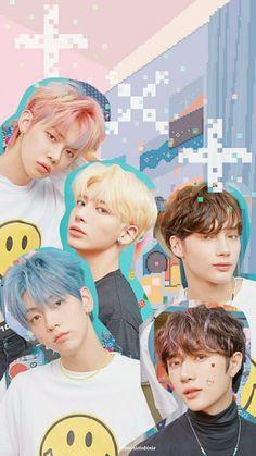 K Pop, Roller, Blue Hour, Korean Language, Cute Icons, Background S, Kpop Aesthetic, Cute Stickers, K Idols