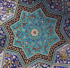 https://flic.kr/p/22oxAU | Detall ornamental, Mesquita del Xa, Isfahan | Detail, Shah Mosque, Isfahan, Iran. Renamed to Imam Mosque after Islamic Revolution.