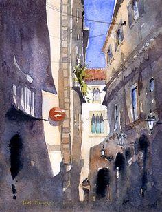 Iain Stewart Gothic Quarter, Barcelona No.2
