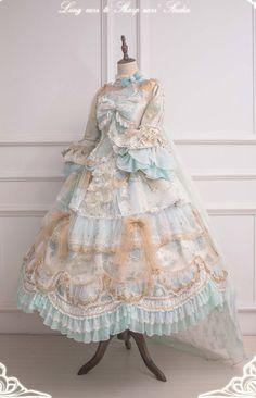 Pretty Outfits, Pretty Dresses, Beautiful Outfits, Cute Outfits, Kawaii Fashion, Lolita Fashion, Cute Fashion, Kawaii Dress, Kawaii Clothes