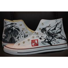 New Products : Hand Painted Canvas Shoes, Custom Canvas Sneakers Shoes, Painted Shoes Oline! Painted Converse, Painted Canvas Shoes, Hand Painted Shoes, Canvas Sneakers, Shoes Sneakers, Custom Canvas, High Tops, Anime, Fashion