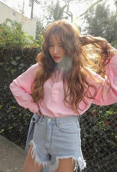 Korean Fashion Trends you can Steal – Designer Fashion Tips Korean Fashion Trends, Korean Street Fashion, Korea Fashion, Fashion Line, Asian Fashion, Style Fashion, Korean Beauty, Asian Beauty, Korean Girl
