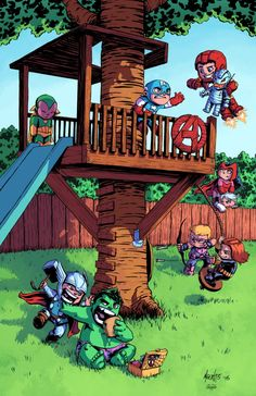 Avengers Tykes by J-Skipper on DeviantArt