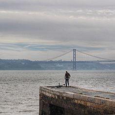 Lisboa's Golden Gate #igerslisboa #igersportugal #lisboalive #lisbonlovers #portugal #visitlisbon #lisboa #lisbon #instagood  #ig_nizza #ig_europe #ig_worlclub #ig_travel