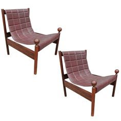 Pair of Rare Brazilian Ouro Preto Chairs by Jorge Zalszupin 1