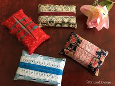 Val Laird Designs - Journey of a Stitcher: Free Block of the Month Wall Quilt - Block 10