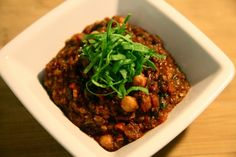 '38 Special' Chili (made with beer, sausage, spinach...)