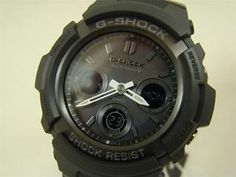 casio blackout watch | CASIO-MENS-G-SHOCK-WATCH-MULTI-BAND-ATOMIC-SOLAR-BLACKOUT-AWG-M100B ...